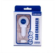 АЗУ SMSNG CAR CHARGER  2*USB+microUSB  5V-3.1A